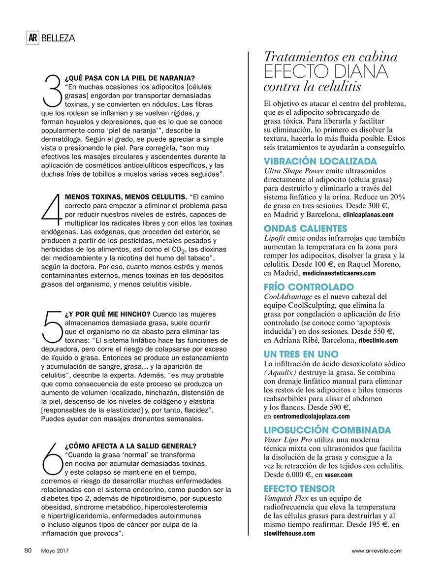 Revista Ana Rosa Quintana - Prensa Slow Life House