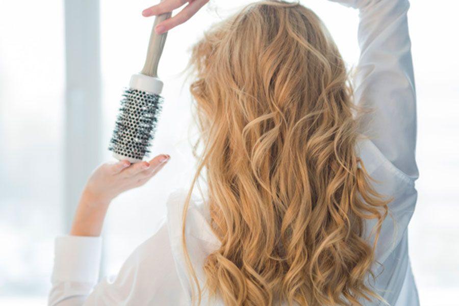 caida del cabello tras el cepillado