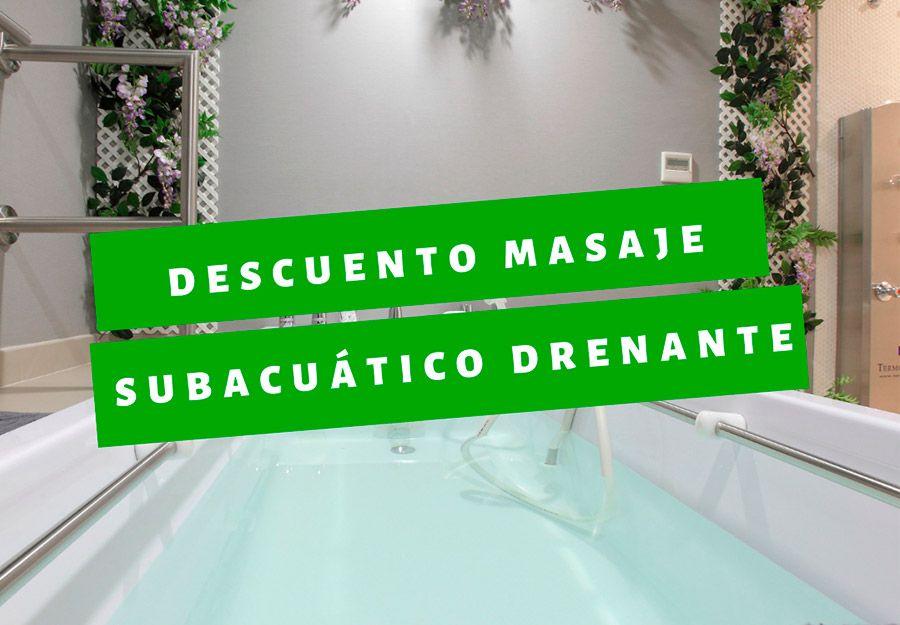 descuento 25 bañera subacuática drenante madrid septiembre