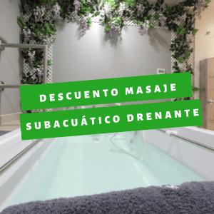 Oferta en tratamiento drenaje linfático subacuático Madrid