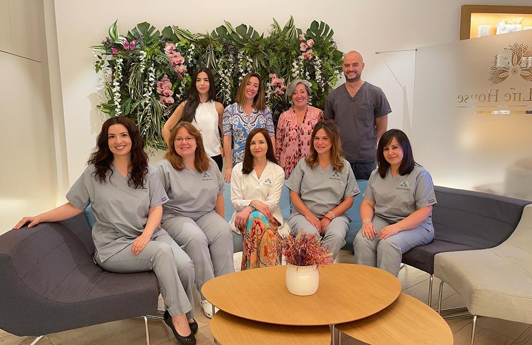 equipo de profesionales en tratamientod personalizados slow life house