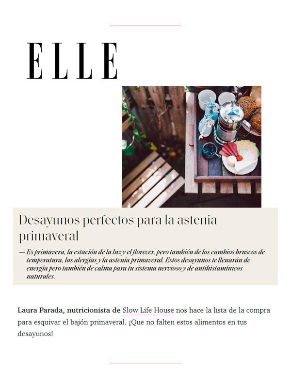Revista Elle 9 de Mayo