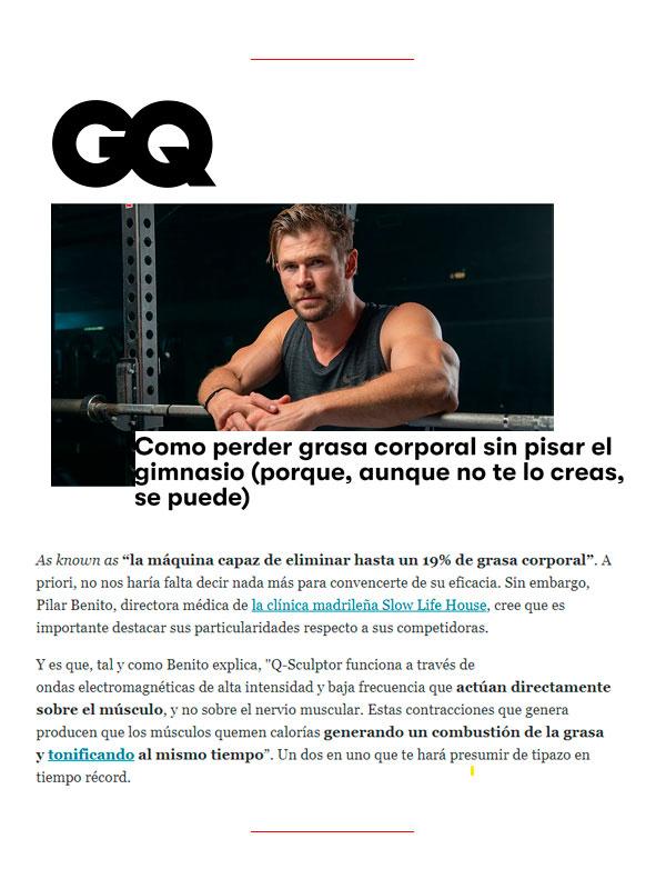 Revista GQ 10 Junio