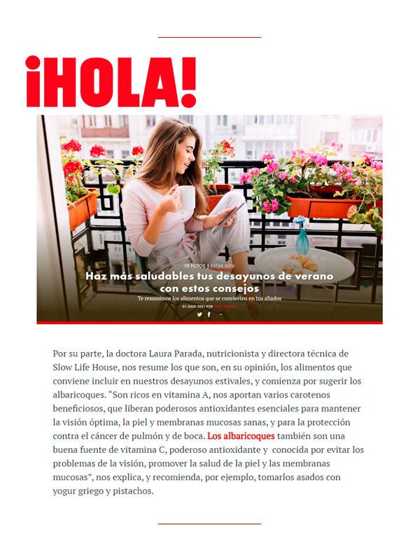 Revista Hola 1 Julio