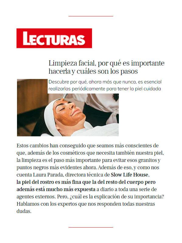 Revista Lecturas 12 Mayo