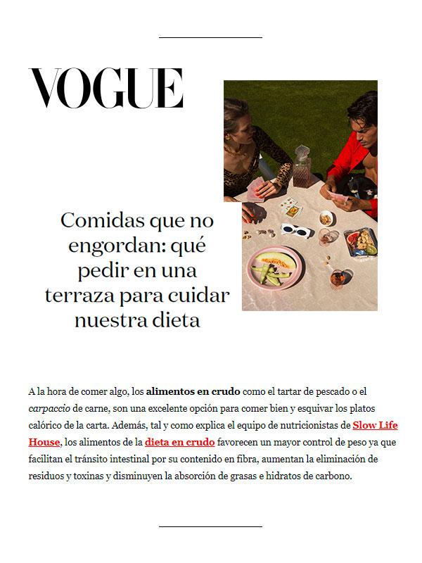 Revista Vogue 30 Julio