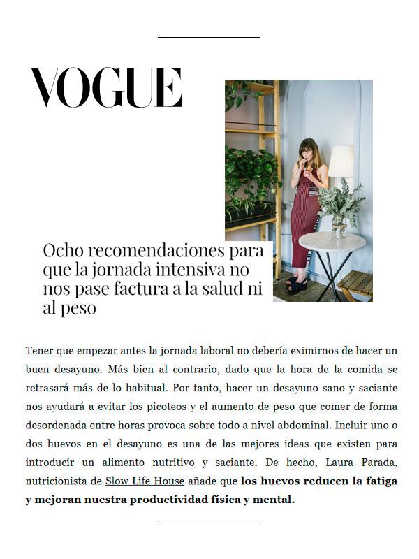 Revista Vogue 8 Julio