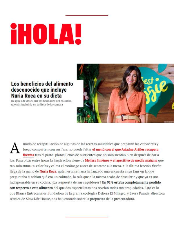Revista hola 23 Mayo 2021