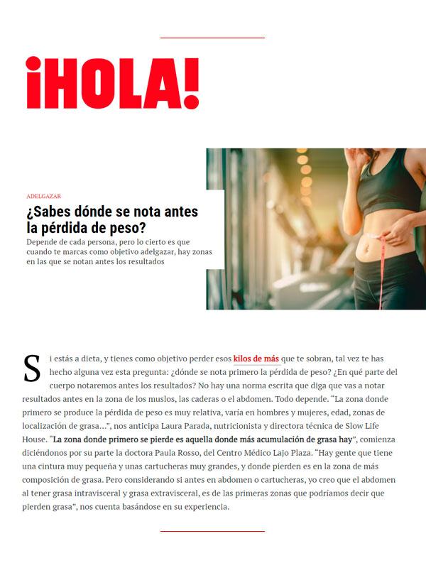 Revista hola 4 Mayo 2021