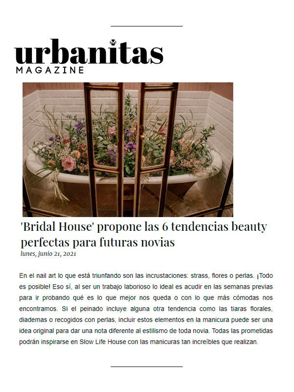 Urbanitas magazine 21 Junio